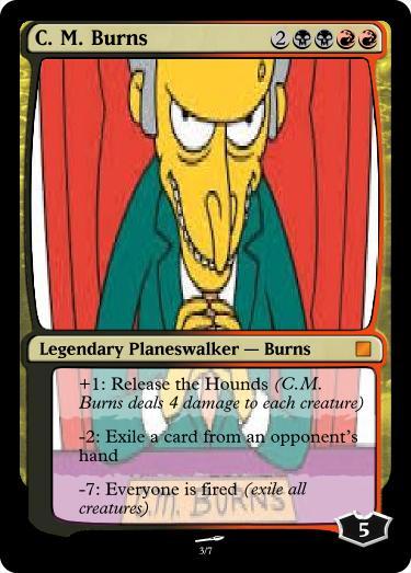 C. M. Burns